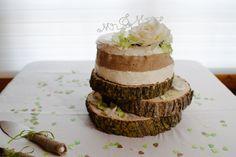 Our rustic wedding cake! #mikeandlinda #yegwedding #weddings