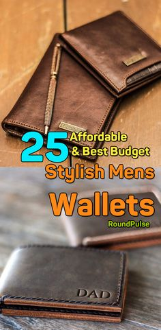 25 Cheap & Best Budget Leather Wallets for Men – Stylish Mens Wallets