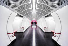 Von Berlin bis Wien: Nick Frank zeigt uns die schönsten U-Bahnhöfe