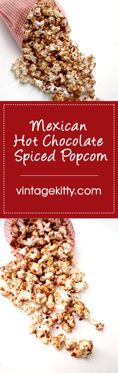Spicy Caramel Popcorn Mexican Chocolate Brownies Recipe ...