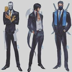 Jhin,Zed and Shen