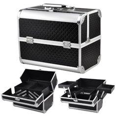 Vanity Case Hard Case Hard Shell Pro Make Up Case Aluminium Make Up Case Lock #VanityCase