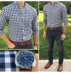 Mens Fashion Smart – The World of Mens Fashion Big Men Fashion, Fashion Fashion, Fashion Tips, Cool Outfits, Fashion Outfits, Herren Outfit, Business Casual Outfits, Denim Outfit, Gentleman Style