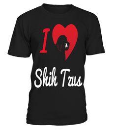 I-Love-Shih-Tzus-T-shirt Shih Tzus, T Shirts, My Love, Mens Tops, Fashion, Tee Shirts, Moda, Chemises, Fashion Styles