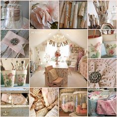 *CRAFT ROOM (Pink): sweet side denote tenderness , love, romantic and charming.