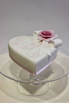 Tarta corazón de champagne / Champagne Heart Cake