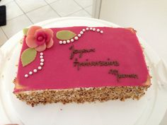 Gâteau d'anniversaire citron noix de coco