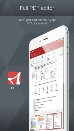 iPhone App OfficeSuite Premium - for Microsoft Office Word, Excel, PowerPoint