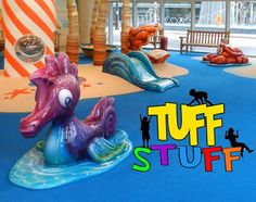 Soft Sculpted Foam Play Tuff Stuff - Church Ministry Installation - by International Play Company www.iplayco.com - we design, manufacture and install #commercial #indoor #playscape #structures & #playground #equipment for young Children play areas.