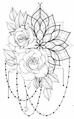 Dope Tattoos, Body Art Tattoos, Tattoo Drawings, Hand Tattoos, Sleeve Tattoos, Floral Tattoo Design, Tattoo Designs, Tattoo Ideas, Friendship Symbol Tattoos