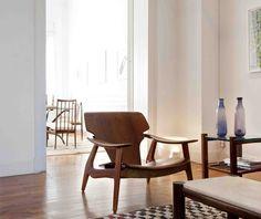 """Diz"" model lounge chair by Sergio Rodrigues."