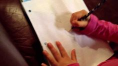"""6 year old's video on """"How To Make a Poster""""     Leia's making posters!!...perfect example of content creation at it's finest"""