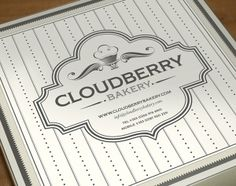 Cloudberry Bakery design