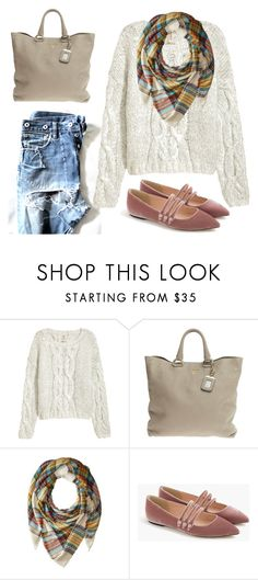 """""""Casual fall outfit"""" by deloom ❤ liked on Polyvore featuring Prada, Steve Madden and J.Crew"""