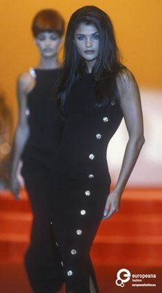 Helena Christensen - Gianni Versace, Autumn-Winter 1991, Couture