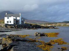A house by the sea, Broadford, Isle of Skye