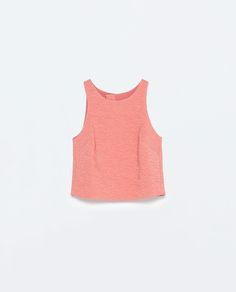 Imagem 7 de TOP COSTAS CRUZADAS da Zara