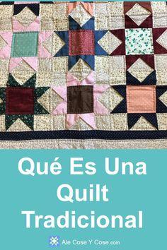Que Es Una Quilt Tradicional Nine Patch, Ale, Quilt Studio, Quilts, Blanket, Pattern, Religious Text, Scrappy Quilts, Fabric Boxes