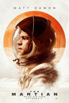 The Martian - 28 Beautifully Designed Movie Posters