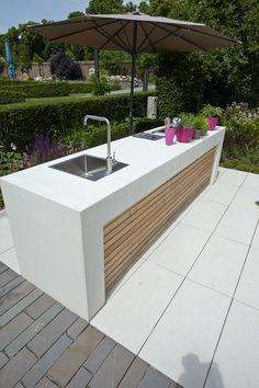 Schloß Dyck - Moderne Wohnküche im Freien. - Neuigkeiten