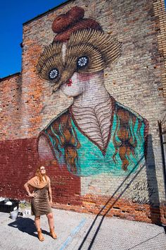 Miss Van - Murals in the Market, Detroit street art festival