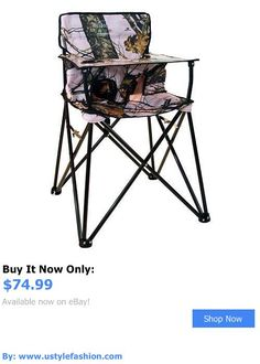 Baby High Chairs: New Ciao Baby Portable High Chair Foldable Travel Mossy Oak Pink Camo BUY IT NOW ONLY: $74.99 #ustylefashionBabyHighChairs OR #ustylefashion