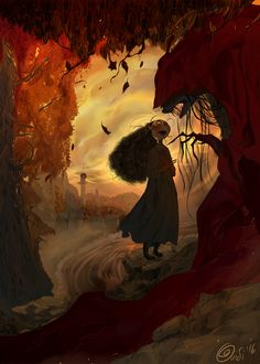 The Fall Witch on Behance