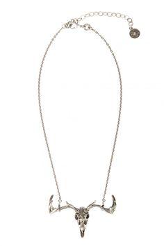 Thunderhill Skull Necklace