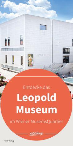 Wer noch nicht im Leopold Museum war, war noch nicht in Wien: Im MuseumsQuartier findet ihr eine der größten Präsentationen der Wiener Moderne. *Werbung To Dos, Floor Plans, Advertising, Pictures, Floor Plan Drawing, House Floor Plans