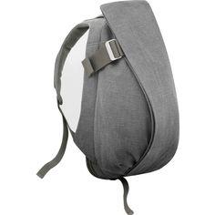 Cote et Ciel Isar Large Raw Canvas Backpack | Icelandic Ash