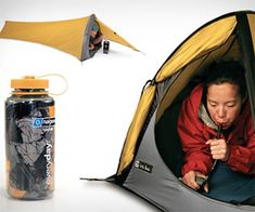 Gogo Elite Blow-up Tent | DudeIWantThat.com
