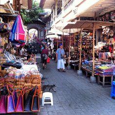 Pasar Seni Ubud (Ubud Art Market) di Ubud-Gianyar, Bali