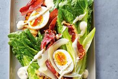 How do you cook classic caesar salad? get instruction detail. This classic salad is a standout when its made with the best ingredients and a little knowhow Easy Salads, Healthy Salads, Healthy Dinners, Classic Caesar Salad, Mango Salad, Healthy Summer Recipes, Fast Dinners, Caprese Salad, Low Carb Recipes