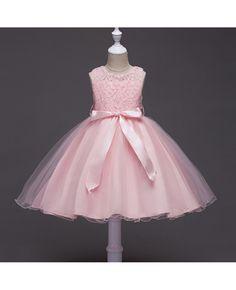 b42d1464b4d  35.9 Cheap Toddler Blue Lace Flower Girl Dress With Sash  QX-l098 -  GemGrace.com