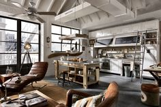 Vintage and Industrial Style Kitchens (4)