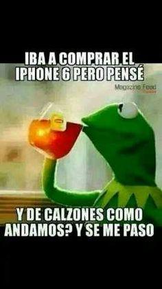 Memes chistosos en español: Comprar el iPhone 6 →  #memesdivertidos…