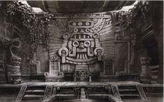 mayan temple interior - Google Search