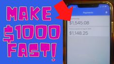 Get Paid $1000 FAST If Your Broke! (Make Money Online 2021) Make Money Blogging, Make Money From Home, Way To Make Money, Make Money Online, Internet Marketing, Social Media Marketing, Surveys For Money, Money Now, Extra Money