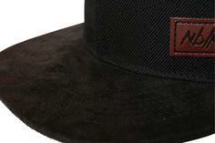 #Nebelkind Classy #Snapback - Schwarzes edles Snapback Cap mit Schirm aus Velourslederimitat ... @mynebelkind