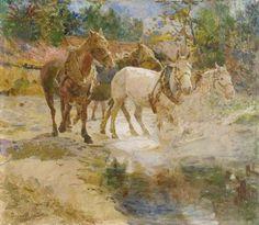 Oscar Pereira da Silva - Cavalos