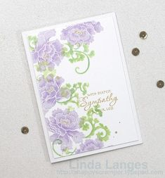 Lacey Scrolls, Stamped with Memento Lulu Lavender Ink and shaded with Prismacolours, A happy Scramper, flower sketch