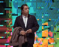 I'm just going to make gifs of meme'd characters standing over my glitches from now on Glitch Art, Vaporwave, Destruction, Just Go, Gifs, Characters, Animation, Digital, Memes