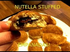 Nutella stuffed Empanadas! with Jack Daniels Syrup - One Shot Meal - YouTube
