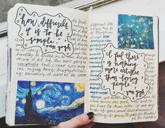 Mrs.B.is.art.journaling — thejournalclub: @florallart ✨