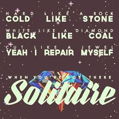 """Marina and the diamonds. """"Solitaire"""" from the album """"Froot"""""""