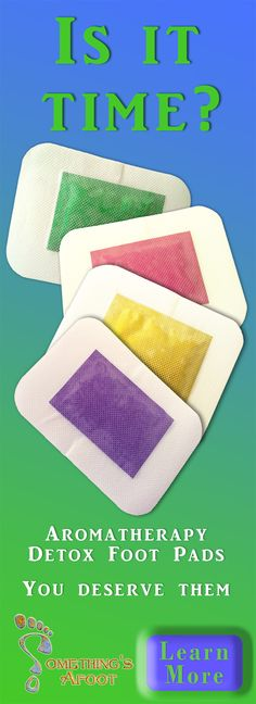 Modern technology couples with ancient knowledge of reflexology and aromatherapy, in these delightful detox foot pads. These 2-in-1 patches are easy and fun.