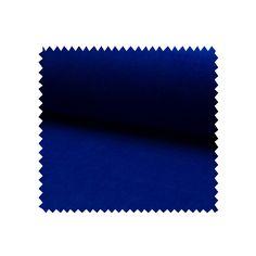 Tissu Jersey Velours Nicky Uni Royal - Tissus des Ursules