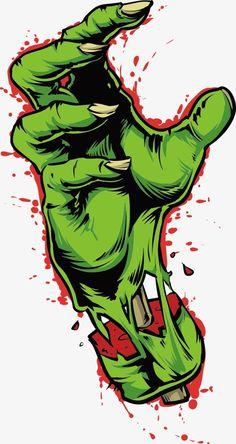 Zombie Hand Art Print by Scydon - X-Small Zombie Kunst, Arte Zombie, Zombie Art, Graffiti Drawing, Graffiti Art, Desenho New School, Desenhos Halloween, Zombie Drawings, Zombie Cartoon