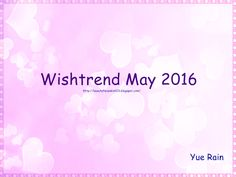 Wishtrend May 2016 discount codes &freebies
