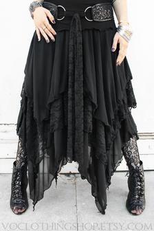 Witch Fashion, Dark Fashion, Gothic Fashion, Boho Fashion, Steampunk Fashion, Modest Fashion, Lace Maxi, Lace Skirt, Mode Steampunk